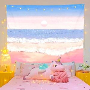 Hanging wall tapestry paint style graphics